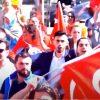 Turkish nationalist rally.